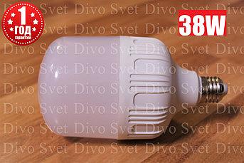Светодиодная промышленная лампа E27 - E40 38 (40) ватт. Замена ламп ДРЛ, ДНАТ. Led лампа E27-E40 38 w.
