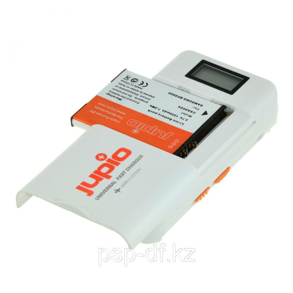 Универсальное ЗУ Jupio с дисплеем для зарядки Li-ion + AA / AAA + 2.1 Ah USB