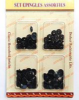 Пластиковые упаковочные заклепки, черные
