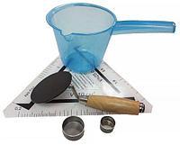 Прибор КП-139 для определения шероховатости а/б покрытий  по методу «песчаное пятно»