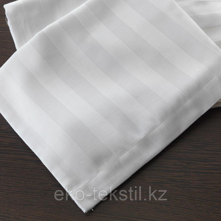 Простынь страйп-сатин 2х сп, евро ,3 см полоска