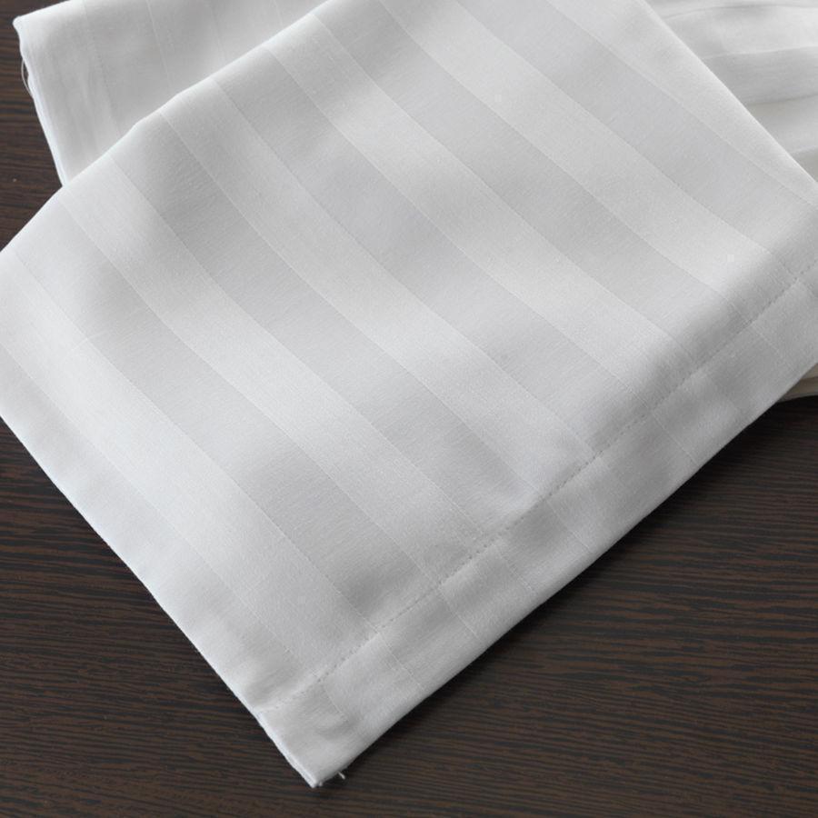 Простынь страйп-сатин 2х сп, евро  3 см полоска