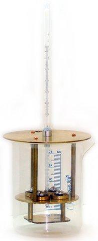 Прибор КИШ для определения температуры размягчения битумов по методу «Кольцо и Шар» по ГОСТу 11506-73(1993)