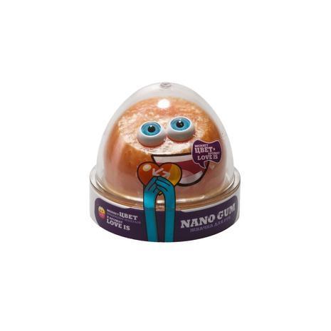 "Жвачка для рук Nano Gum Оранжево-желтый с ароматом ""Love is"" 50гр"
