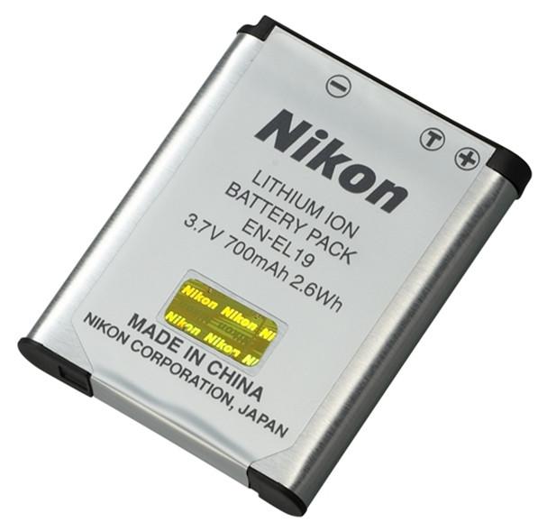 Аккумулятор Nikon en-el19 (700 mAh)
