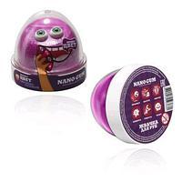 "Пластилин для лепки ""Жвачка для рук ""Nano gum"", сиренево-розовый"", 50 гр."