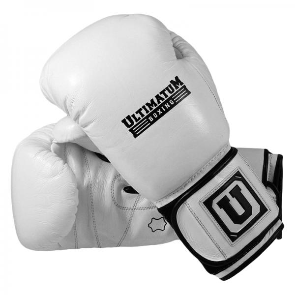Боксерские перчатки Ultimatum Gen3Spar белые