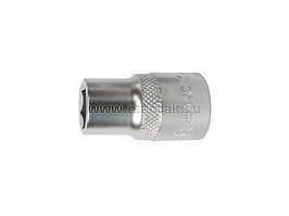 "Головка торцевая стандартная шестигранная 1/2"", 15 мм МАСТАК 000-40015"