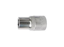 "Головка торцевая стандартная шестигранная 1/2"", 17 мм МАСТАК 000-40017"