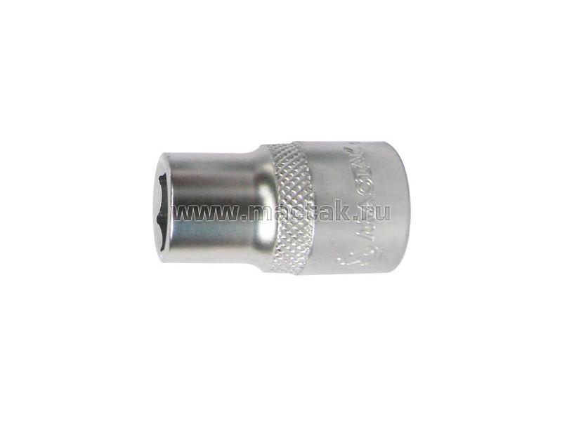 "Головка торцевая стандартная шестигранная 1/2"", 27 мм МАСТАК 000-40027"