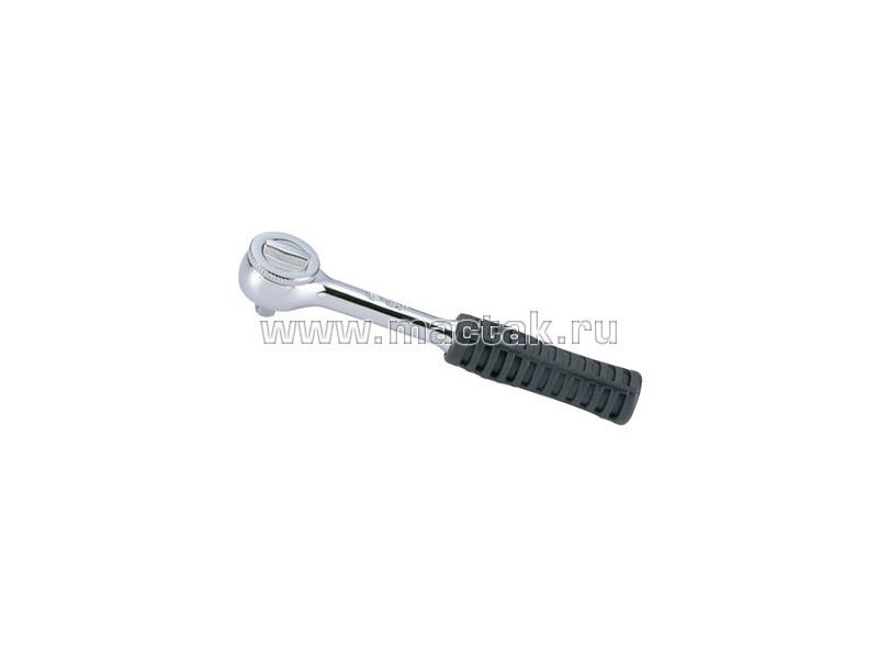 """Трещотка 3/8"""", 203 мм, 45 зубцов, дисковый механизм KING TONY 3725-08G"""