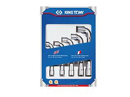Набор торцевых L-образных ключей, 10-19 мм, 5 предметов KING TONY 1805MR