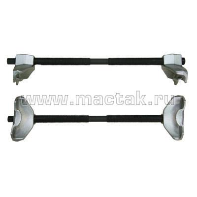 Стяжка амортизаторных пружин, 370 мм, кованая, U-образные держатели, 2 предмета МАСТАК 100-01370