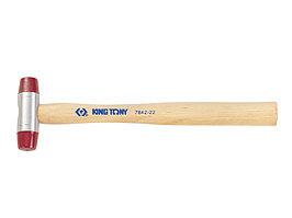 Киянка 45 мм, 420 г, полиуретановые сменные насадки KING TONY 7842-45