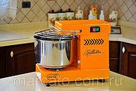 Famag GRILLETTA IM 5 ORANGE оранжевая спиральная тестомесильная машина бытовая для дома и хлебопекарни