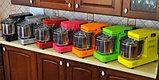 Famag GRILLETTA IM 5 ORANGE оранжевая спиральная тестомесильная машина бытовая для дома и хлебопекарни, фото 2