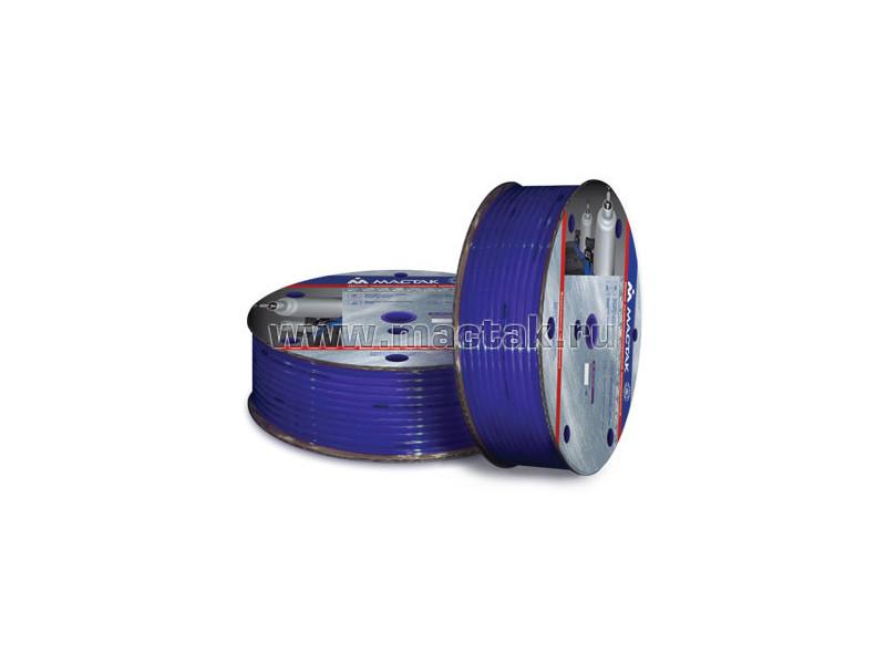 """Пневматический шланг высокого давления 8х12 мм, 15 м, полиуретановый, резьба 1/4"""" МАСТАК 681-08015T"""