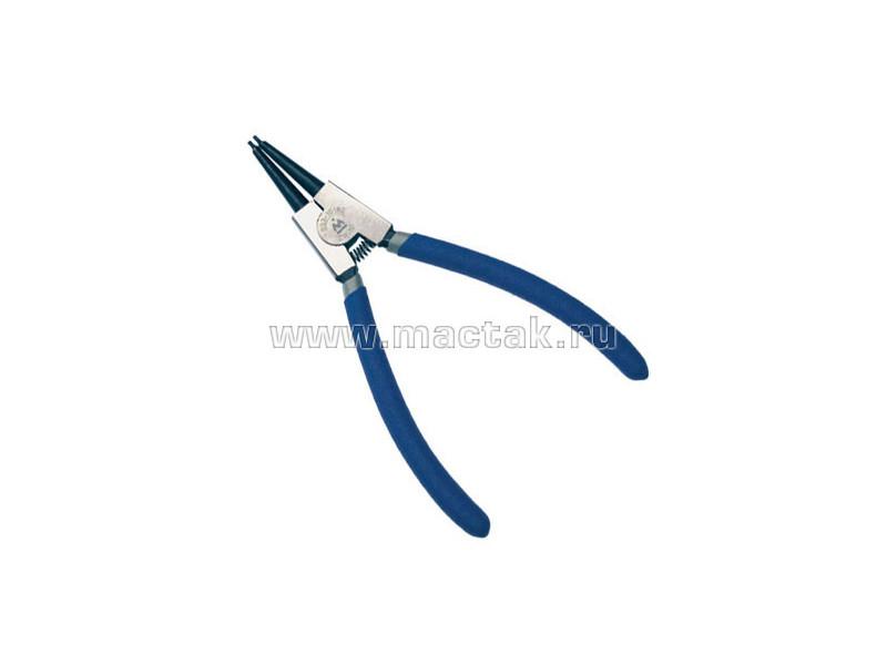 Съемник для стопорных колец 180 м, прямые губки, разжатие МАСТАК 033-10180H