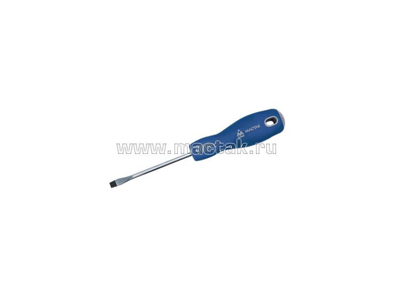 Отвёртка шлицевая 4.0х100 мм, держатель МАСТАК 040-40100H