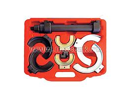 Стяжка амортизаторных пружин, кованые U-образные держатели, кейс, 8 предметов МАСТАК 100-00008C
