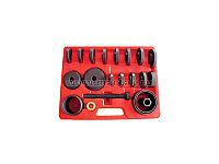 Набор оправок для монтажа и демонтажа ступичных подшипников, кейс, 22 предметов МАСТАК 100-30022C