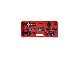 Обратный молоток для внутренних и внешних подшипников, 15-80 мм, кейс, 6 предметов МАСТАК 100-31005C