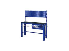Верстак инструментальный, ящик, задняя панель, синий МАСТАК 541-11500B