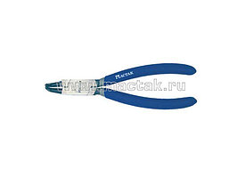 Съемник для стопорных колец 170 м, загнутые губки, разжатие МАСТАК 033-30170H