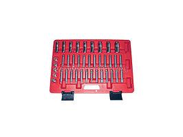 Набор торцевых головок и насадок для обслуживания амортизаторов, кейс, 39 предметов МАСТАК 100-10039C