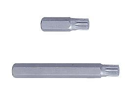 Вставка (бита) торцевая 10 мм, SPLINE, М8, L = 36 мм KING TONY 163608M