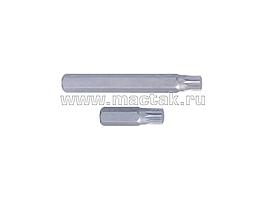 Вставка (бита) торцевая 10 мм, SPLINE, М10, L = 80 мм KING TONY 168010M