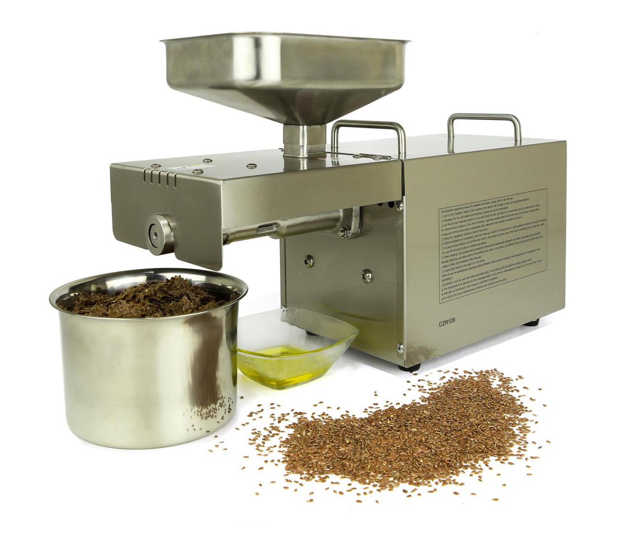 AKITA Jp AKJP 400 шнековый электрический мини маслопресс для холодного горячего отжима масла