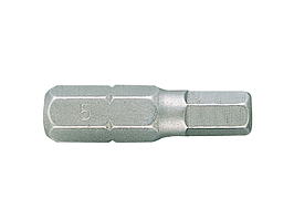 """Вставка (бита) торцевая 1/4"""", HEX, 8 мм, L = 25 мм KING TONY 102508H"""