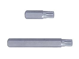 Вставка (бита) торцевая 10 мм, SPLINE, М10, L = 36 мм KING TONY 163610M