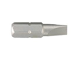 "Вставка (бита) торцевая 1/4"", Slotted, 5х0.8 мм, L = 25 мм KING TONY 102505S1"