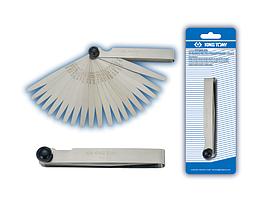 Набор щупов для измерения зазора клапанов, 0,05-1 мм, 20 предметов KING TONY 77340-20