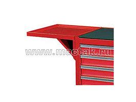Полка инструментальная навесная, красная МАСТАК 550-10457R