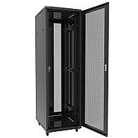 Шкаф серверный напольный 42U,800*1000*1958,двери передняя одностворчатая,задняя двухстворчатая перфорированные