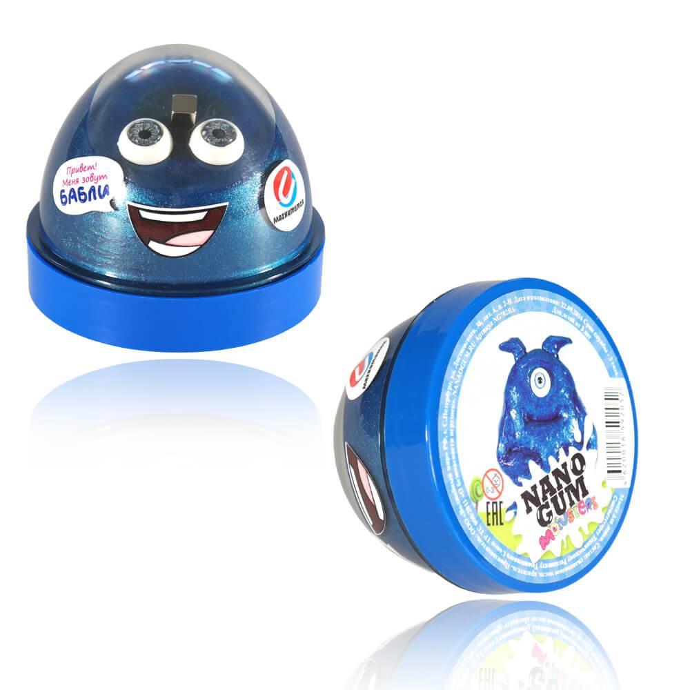 """Nano gum Магнитный """"Бабли"""". С ароматом баблгама 50 Грамм"""