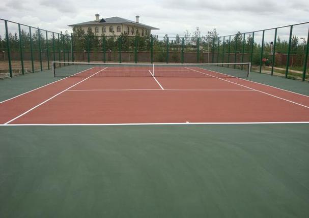 Частный теннисный корт, фото 2
