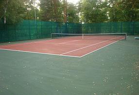 Теннисный корт для дачи
