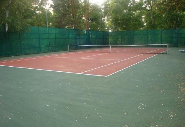 Теннисный корт для дачи, фото 2