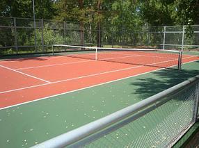 Теннисный корт для дома