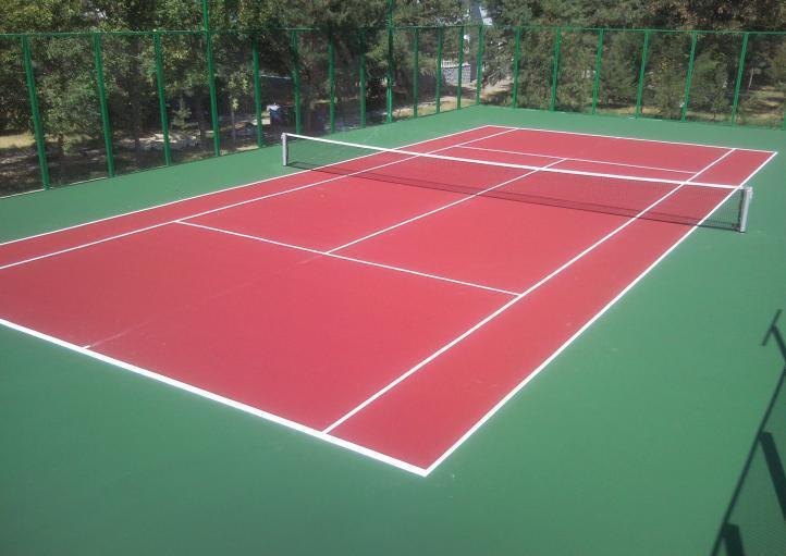 Стандартный теннисный корт