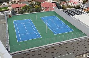 Бизнес теннисный корт