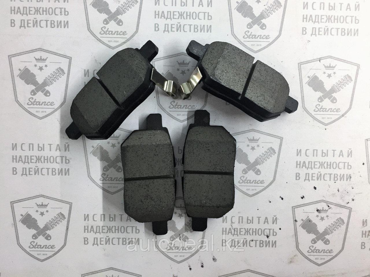 Колодки тормозные дисковые задние JAC S3