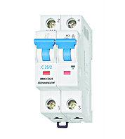 Автоматический выключатель 1-полюс+N 25А