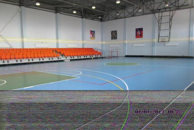 Спортивный зал в школе, фото 2