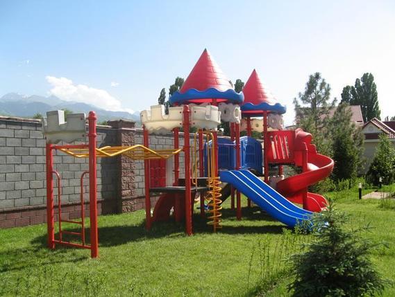 Детский пластиковый игровой комплекс, фото 2