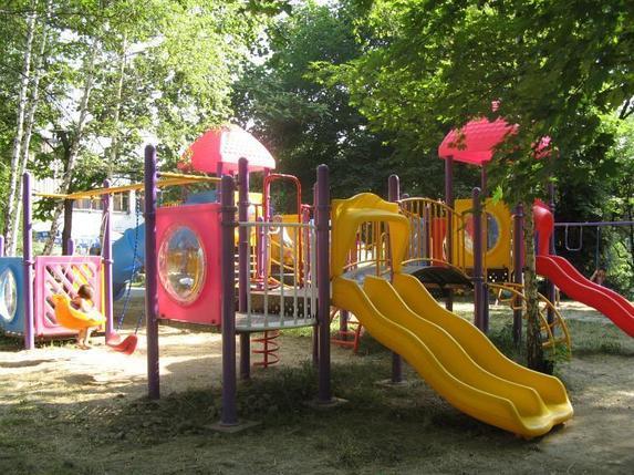 Детский игровой комплекс с горкой, фото 2
